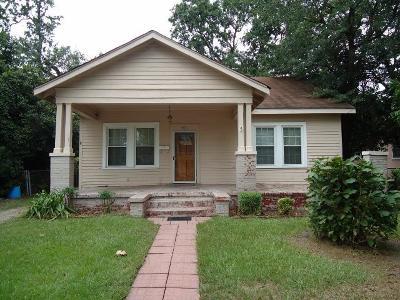 Augusta GA Single Family Home For Sale: $56,000