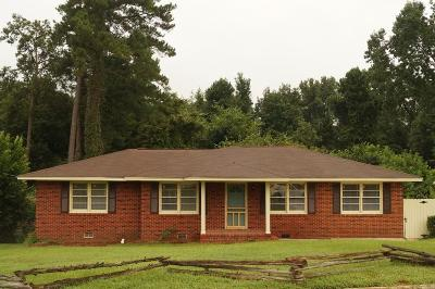 North Augusta Single Family Home For Sale: 318 Belair Road