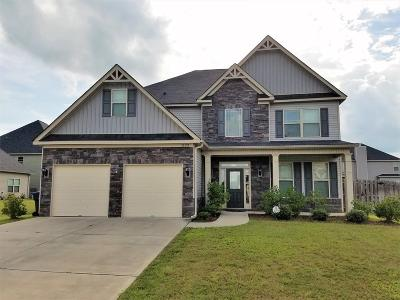 Grovetown Single Family Home For Sale: 1123 McCoys Creek Road