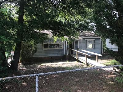 Richmond County Single Family Home For Sale: 2514 Corbin Place