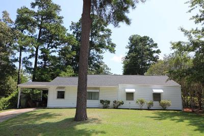 Aiken Single Family Home For Sale: 1226 Hahn Avenue