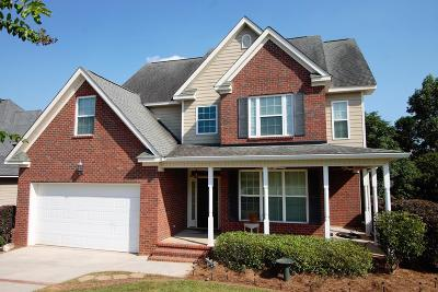 Grovetown Single Family Home For Sale: 543 Great Falls Drive