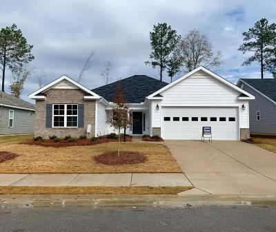 Grovetown Single Family Home For Sale: 3243 Alexandria Drive