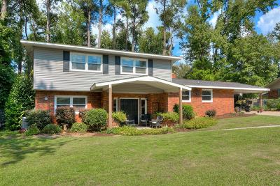 North Augusta Single Family Home For Sale: 808 Brooks Drive