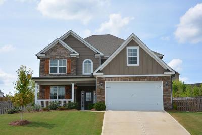 Grovetown Single Family Home For Sale: 5408 Victoria Falls