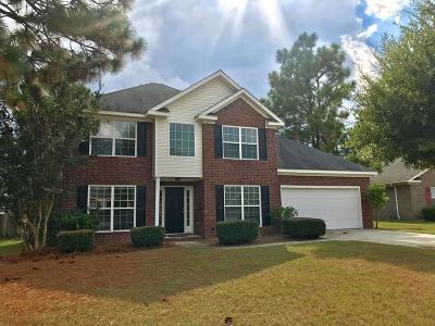 Grovetown Single Family Home For Sale: 509 Butler Springs Circle