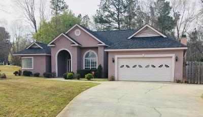 Evans Single Family Home For Sale: 1197 Newport Trail