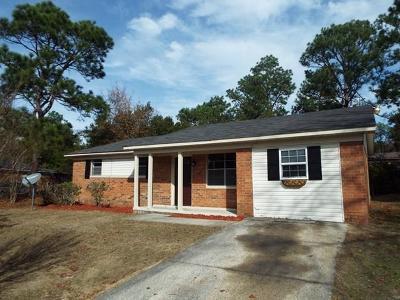 Augusta GA Single Family Home For Sale: $85,000