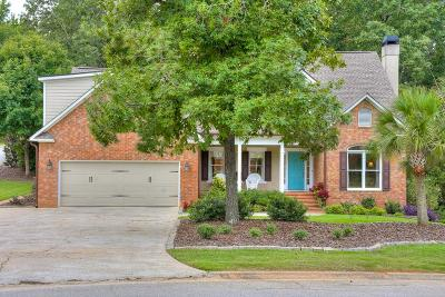 North Augusta Single Family Home For Sale: 21 Rapids Court
