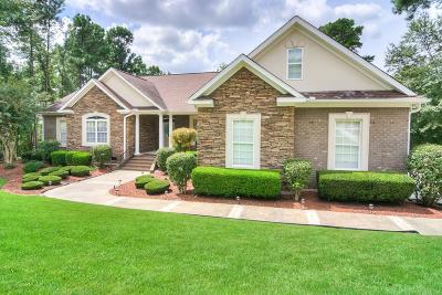 North Augusta Single Family Home For Sale: 212 River Wind Drive