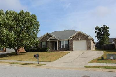 Hephzibah Single Family Home For Sale: 3455 Essex Place