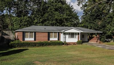 Augusta Single Family Home For Sale: 546 Whitehead Drive