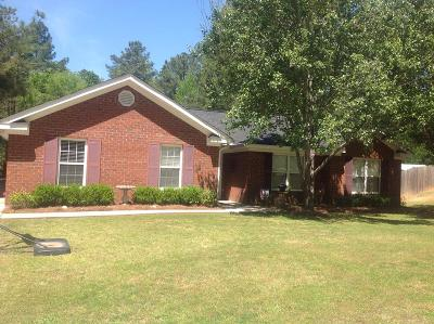Appling Single Family Home For Sale: 122 Wood Creek Lane