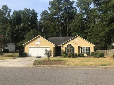 North Augusta Single Family Home For Sale: 332 St Julian Place