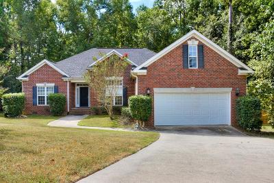 Evans Single Family Home For Sale: 4878 Flagstone Court