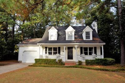 Aiken Single Family Home For Sale: 120 Driftwood Circle