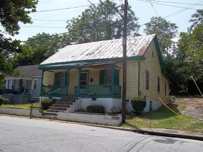 Augusta Single Family Home For Sale: 2516 Porter Street
