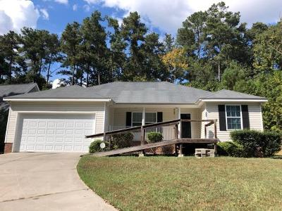 North Augusta Single Family Home For Sale: 343 Belair Road