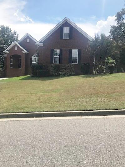 North Augusta Single Family Home For Sale: 148 North Hills Drive