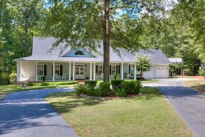 Appling Single Family Home For Sale: 4167 Waters Edge Lane