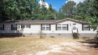 McDuffie County Single Family Home For Sale: 2707 Pine Forrest Drive