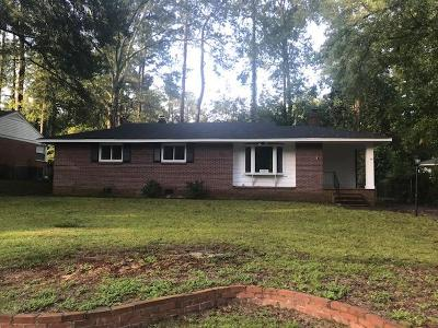 North Augusta Single Family Home For Sale: 1925 Robin Road