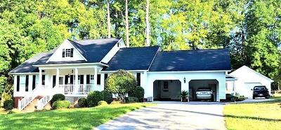 McDuffie County Single Family Home For Sale: 3026 Twin Pine Road