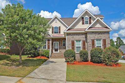 Evans Single Family Home For Sale: 2529 Grier Circle