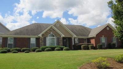 Grovetown Single Family Home For Sale: 1665 Cedar Hill Drive