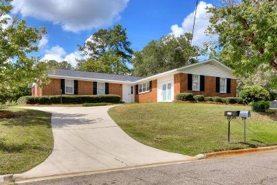 Augusta Single Family Home For Sale: 2142 Kingsley Court