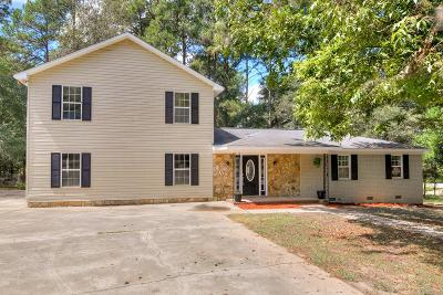 Beech Island Single Family Home For Sale: 118 Storm Court