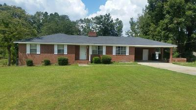 McDuffie County Single Family Home For Sale: 820 Central Road
