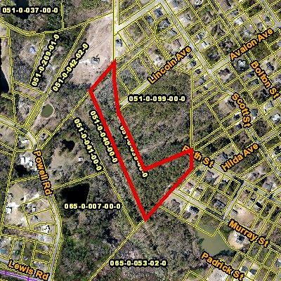 Augusta Residential Lots & Land For Sale: 3930 Murray Street