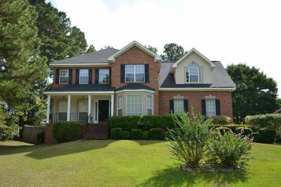 Evans GA Single Family Home For Sale: $205,900