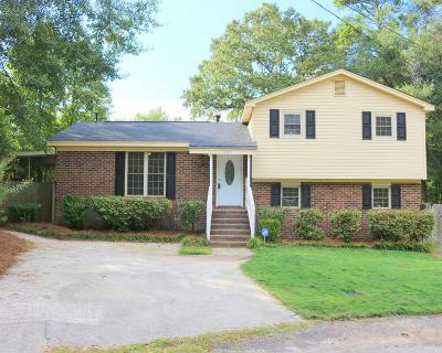 Augusta Single Family Home For Sale: 1701 Indian Hill Court