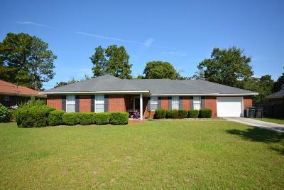 Hephzibah Single Family Home For Sale: 3921 Bowen Drive