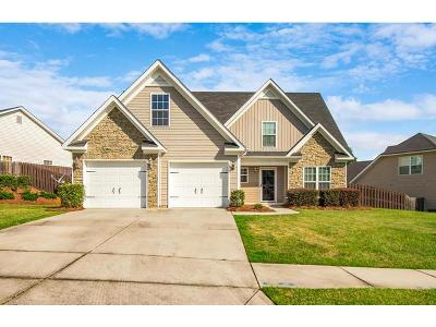 Grovetown Single Family Home For Sale: 505 Sweet Meadow Drive