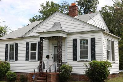 Augusta Single Family Home For Sale: 1536 Schley Street