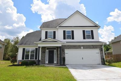 Grovetown Single Family Home For Sale: 4841 High Meadows Drive
