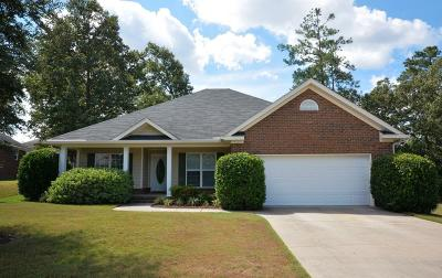 Grovetown Single Family Home For Sale: 639 Butler Springs Circle