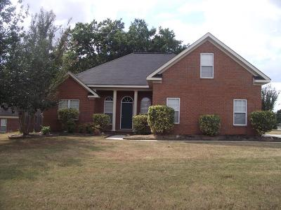 Grovetown Single Family Home For Sale: 1931 Long Creek Falls Road