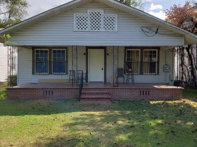 Augusta GA Single Family Home For Sale: $59,000