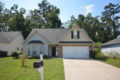 Augusta GA Single Family Home For Sale: $190,750