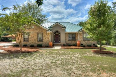 Grovetown Single Family Home For Sale: 1461 Lakeview Drive
