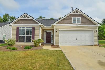 Aiken Single Family Home For Sale: 210 Kemper Downs Drive