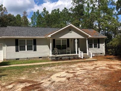 Warrenville SC Single Family Home For Sale: $99,000