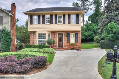 Augusta Single Family Home For Sale: 2001 Summer Ridge Drive