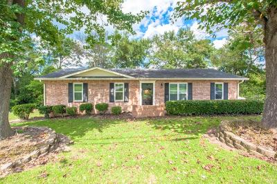 North Augusta SC Single Family Home For Sale: $120,000