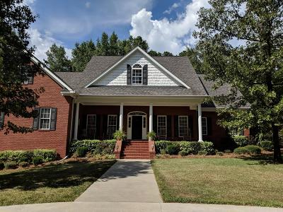 McDuffie County Single Family Home For Sale: 461 South Lake Drive