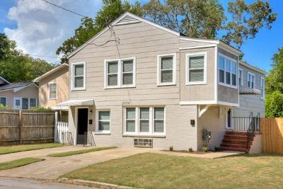 Augusta Single Family Home For Sale: 2005 McDowell Street